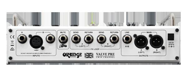 Orange Acoustic Pre Amp
